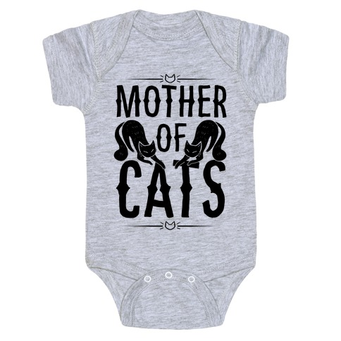 Mother Of Cats Baby Onesy