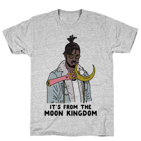 It's From The Moon Kingdom Mens T-Shirt