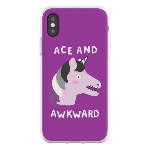 Ace And Awkward Phone Flexi-Case