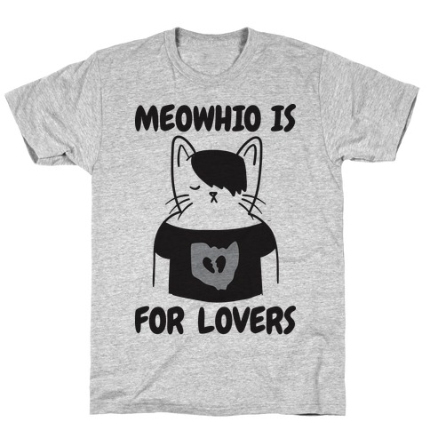 Meowhio Is For Lovers T-Shirt