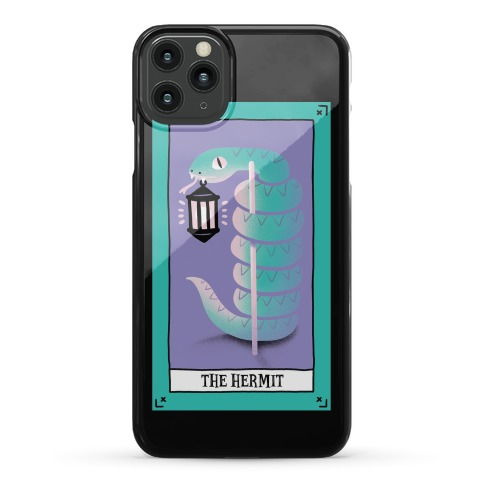 Creepy Cute Tarots: The Hermit Phone Case