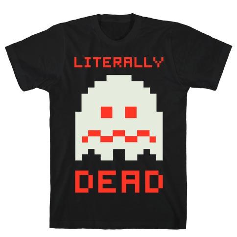 Literally Dead Pixel Ghost T-Shirt