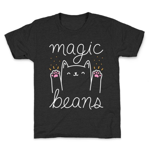 Magic Beans Cat Kids T-Shirt