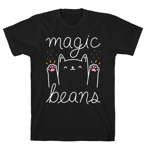 Magic Beans Cat T-Shirt