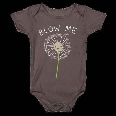 Blow Me Dandelion Baby One-Piece
