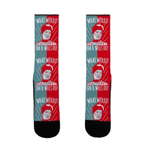 What Would Ida B. Wells Do Sock