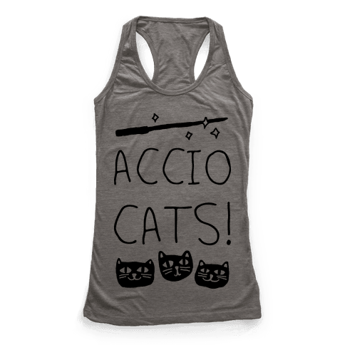 Accio Cats Racerback Tank Top