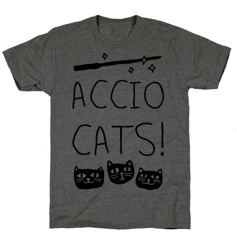Accio Cats Mens T-Shirt