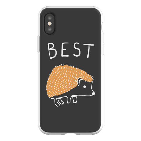 Best Buds Hedgehog Phone Flexi-Case