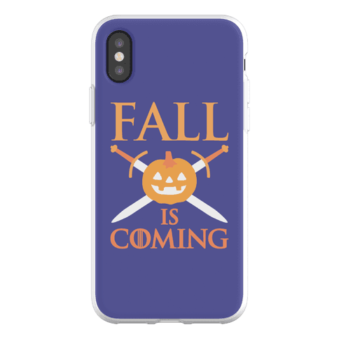 Fall Is Coming Parody Phone Flexi-Case