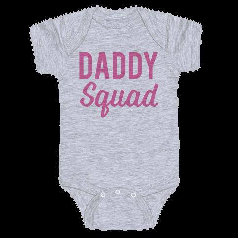 Daddy Squad Baby Onesy