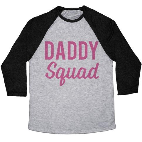 Daddy Squad Baseball Tee