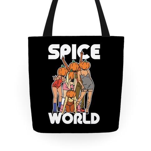 Spice World Pumpkin Spice Tote