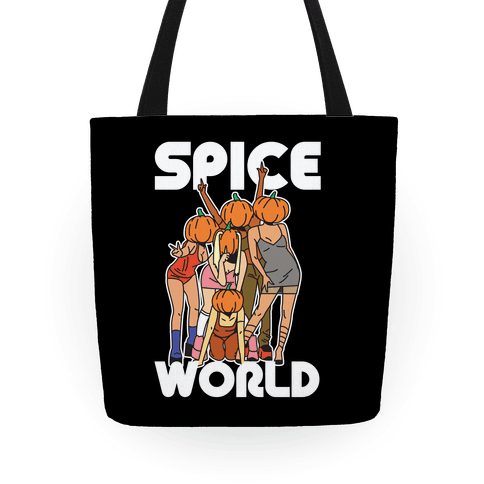 Spice World Pumpkin Spice Tote