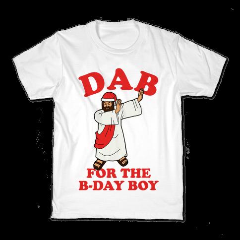 We gonna Party Like It's My Birthday Jesus Dab Kids T-Shirt
