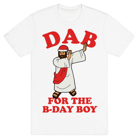 We gonna Party Like It's My Birthday Jesus Dab Mens T-Shirt