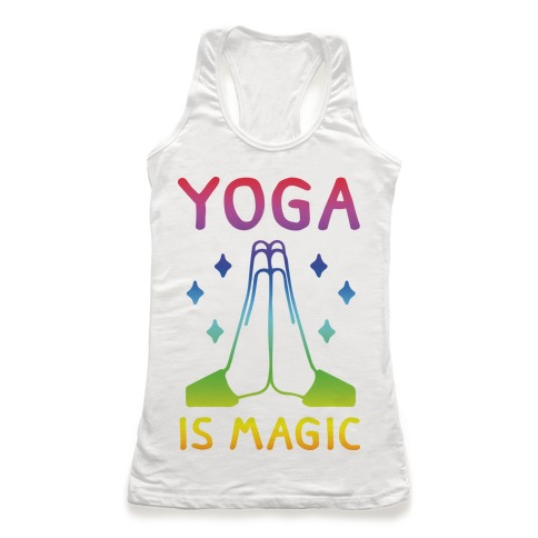 Yoga Is Magic Racerback Tank Top