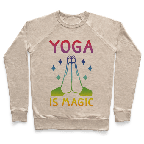 Yoga Is Magic Pullover