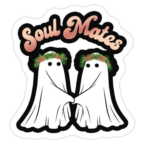 Soul Mates Die Cut Sticker