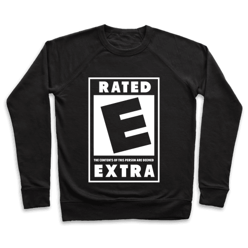 Rated E for Extra Pullover