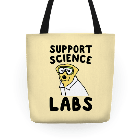 Support Science Labs Tote