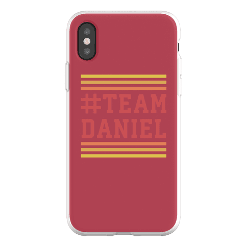 Team Daniel Phone Flexi-Case