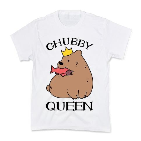 Chubby Queen Kids T-Shirt
