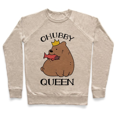 Chubby Queen Pullover