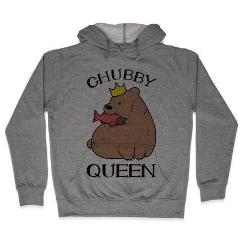 Chubby Queen Hooded Sweatshirt