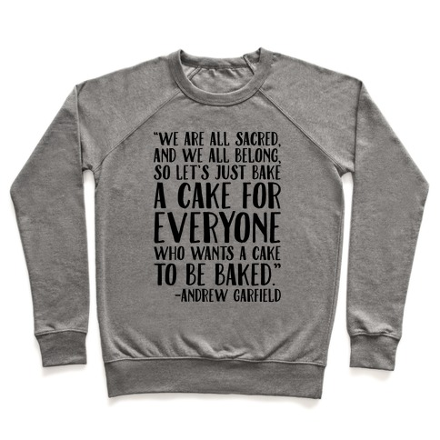 Let's Just Bake A Cake For Everyone Who Wants A Cake To Be Baked Pullover