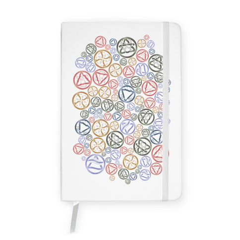 Witch's Elements Pattern Notebook