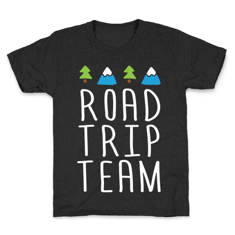 Road Trip Team Kids T-Shirt
