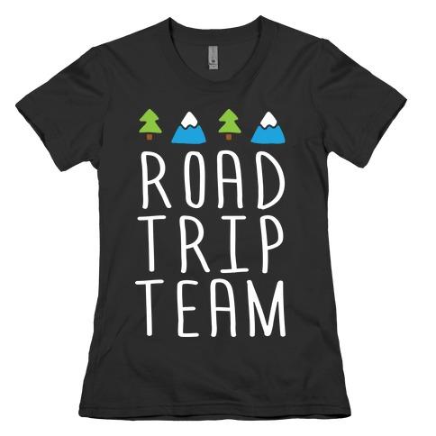 Road Trip Team Womens T-Shirt