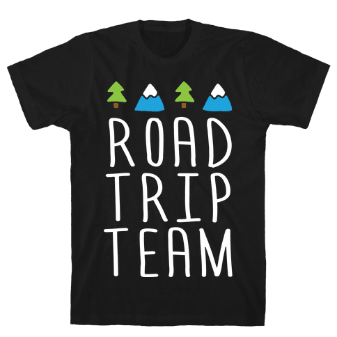 Road Trip Team Mens T-Shirt