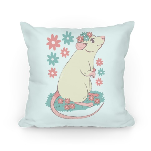 Soft Pastel Rat Pillow