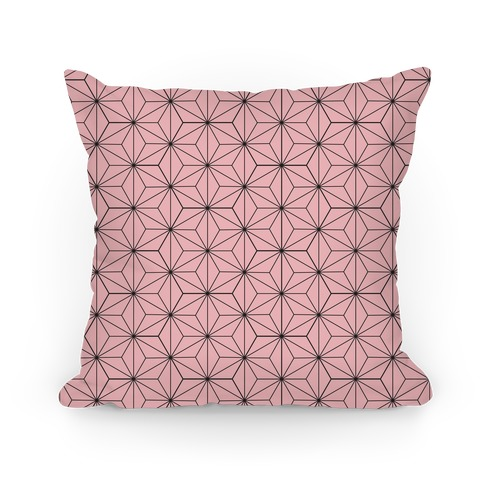 Nezuko Pattern Pillow