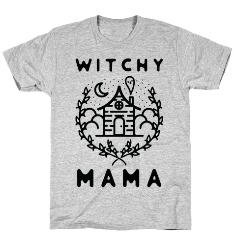 Witchy Mama Mens/Unisex T-Shirt