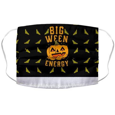Big Ween Energy Accordion Face Mask
