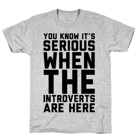 Introvert Protest T-Shirt