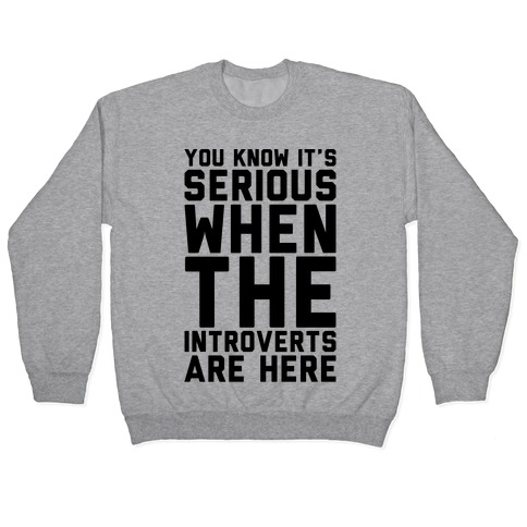 Introvert Protest Pullover