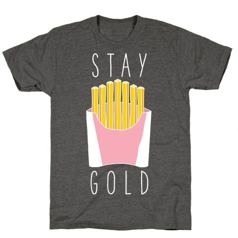 Stay Gold Pink T-Shirt