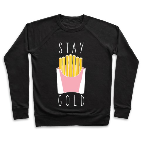 Stay Gold Pink Pullover