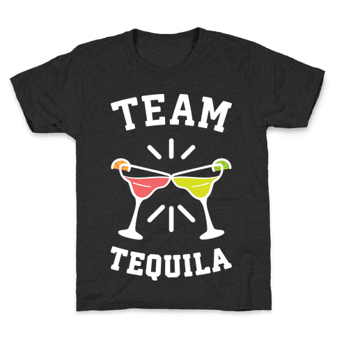 Team Tequila (White) Kids T-Shirt