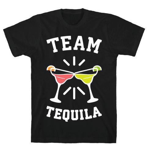 Team Tequila (White) Mens T-Shirt