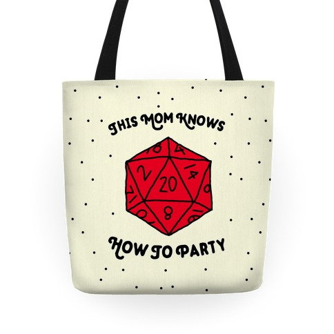 This Mom Knows How to Party Tote