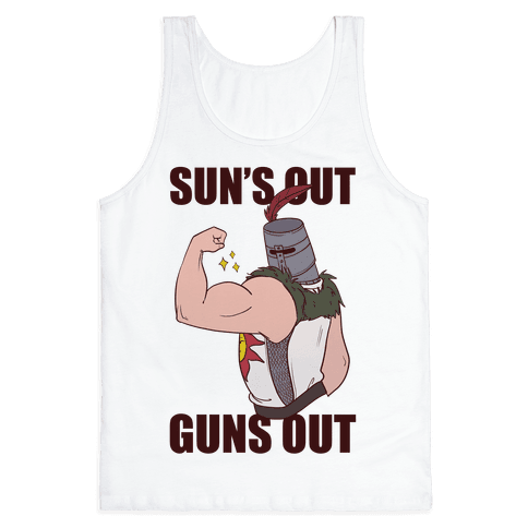 Sun's Out, Guns Out - Solaire  Tank Top