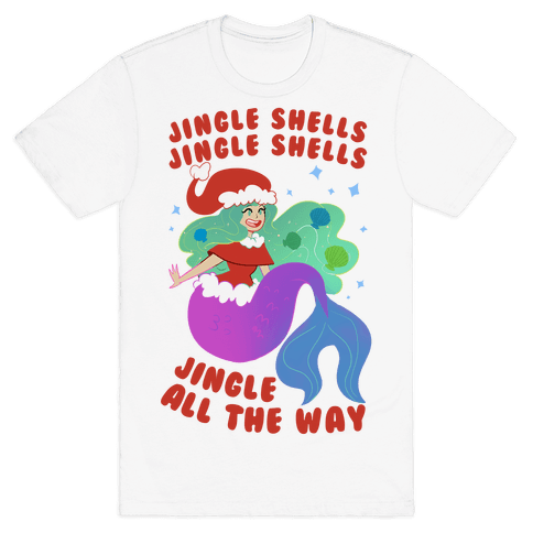 Jingle Shells, Jingle Shells Mens T-Shirt