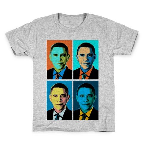 Pop Art Obama Kids T-Shirt