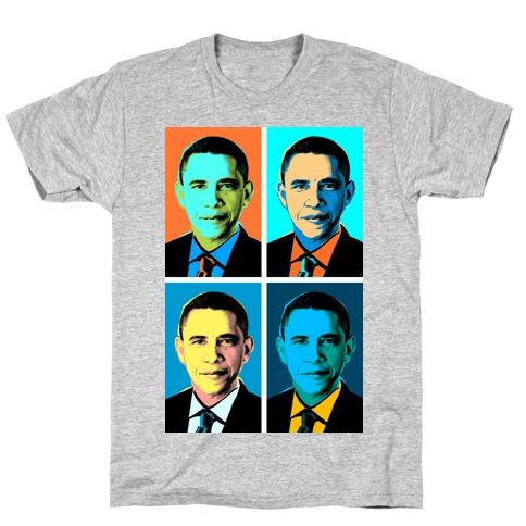 Pop Art Obama T-Shirt