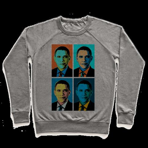 Pop Art Obama Pullover